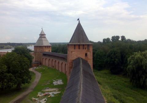 Новгородская крепостная стена