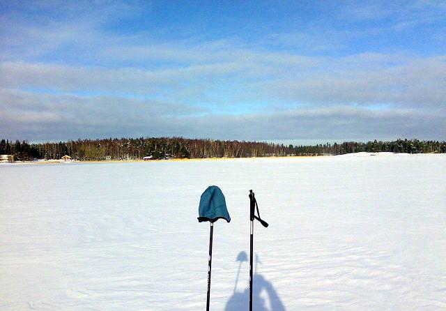 Просто вид с лыж