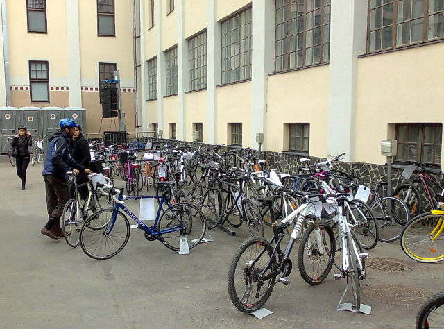 Велосипеды на родине мумми-тролей 14052011578