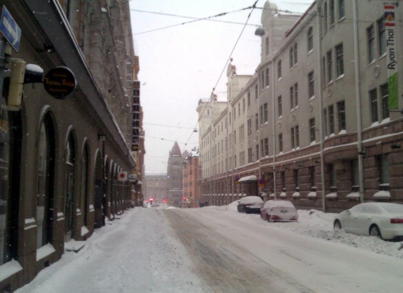 Рождество в центре Хельсинки