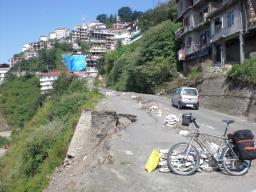 Leaving Shimla by NH22