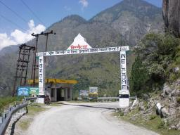 Border of regions Shimla and Kinnaur