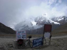 Finally, at Kunzum Pass. View from the east.