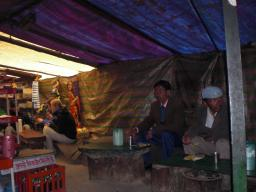 Interior of a dhaba in Batal